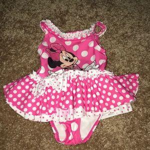 Baby girls bathing suit